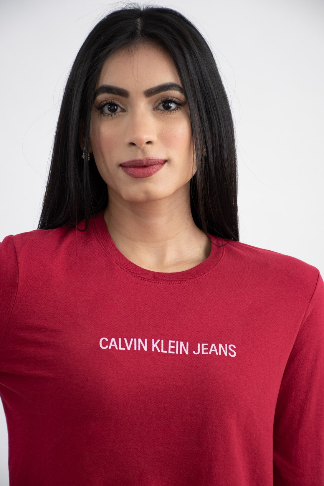 Cropped Ml Calvin Klein Logo Meio