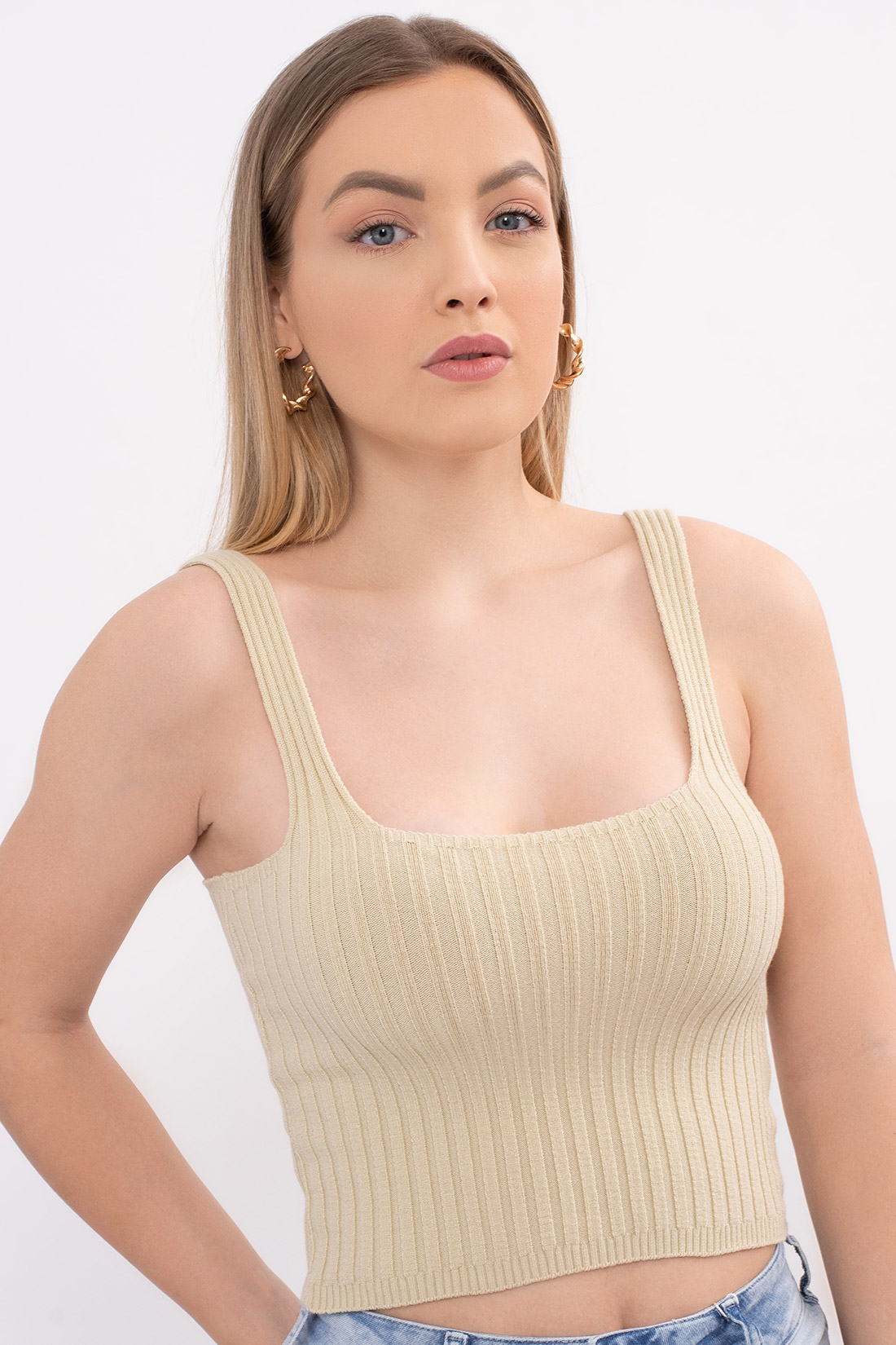 Cropped Sommer Tricot Modal