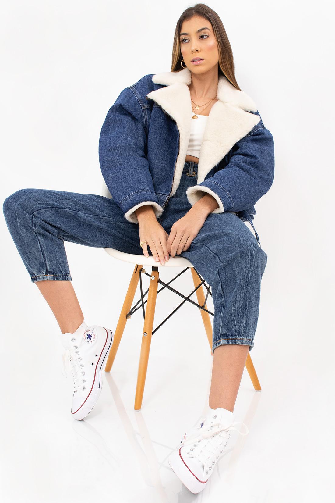 Jaqueta Jeans Levis Forrada Pelo