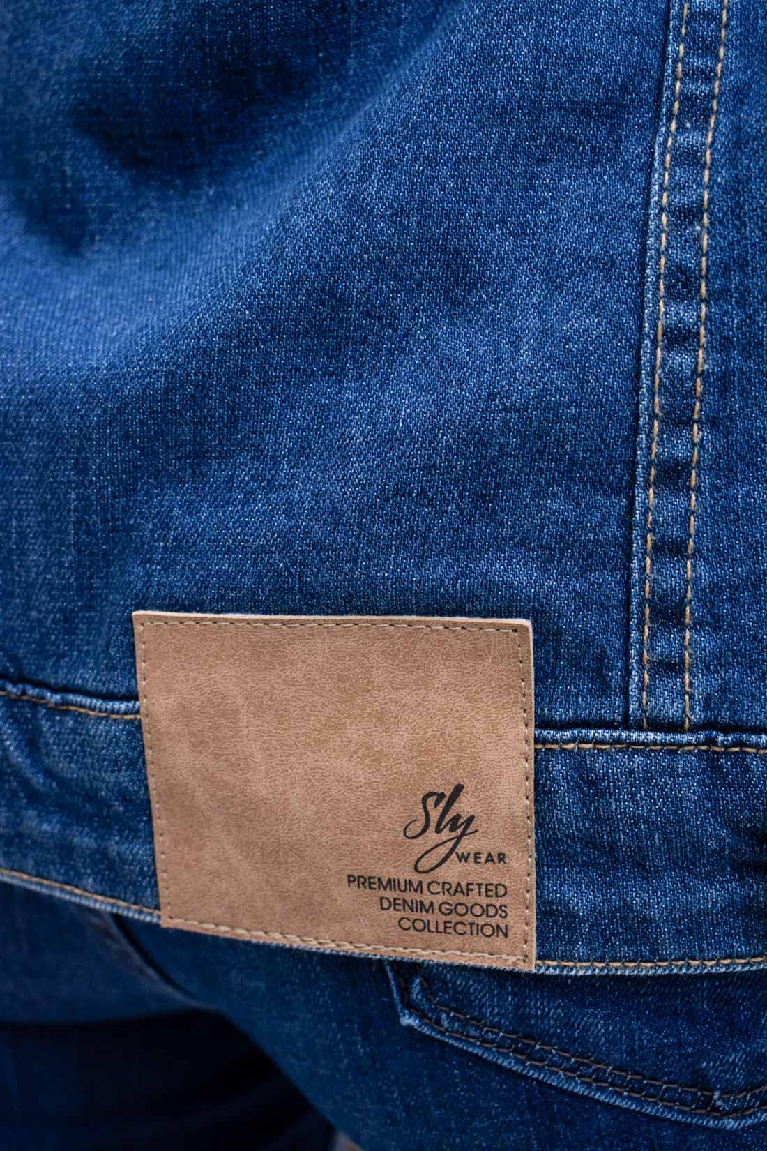 Jaqueta Jeans Slywear Frazier
