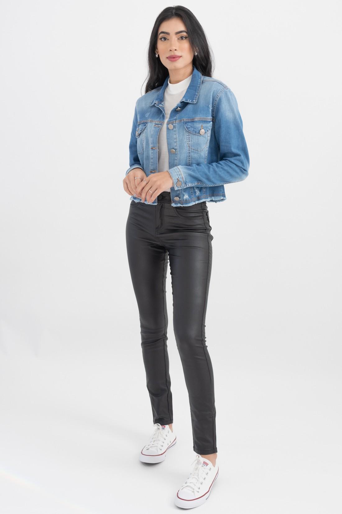 Jaqueta Jeans Slywear Puidos