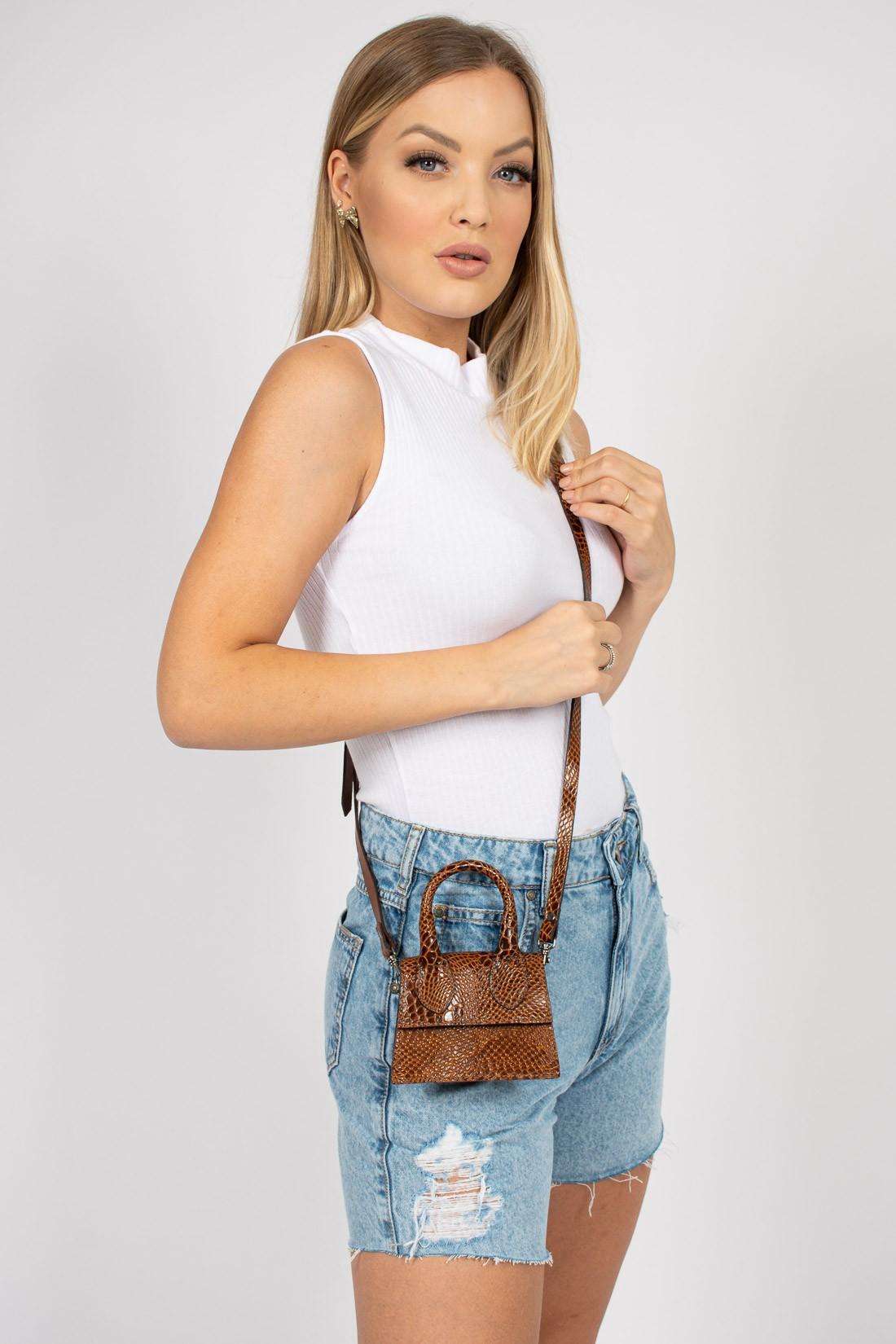 Micro Bag Texturizada
