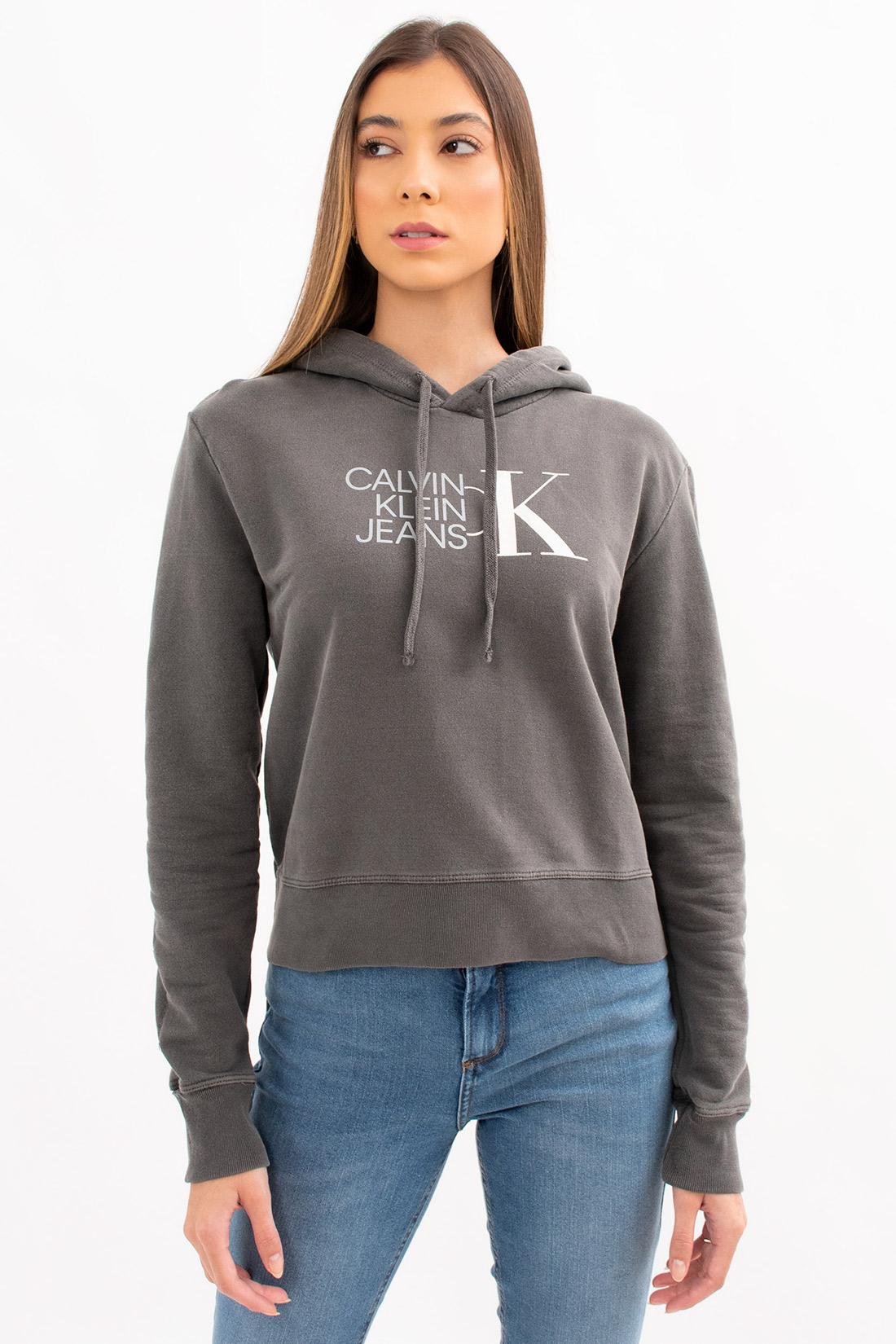 Moletom Calvin Klein Capuz Logo Furtacor