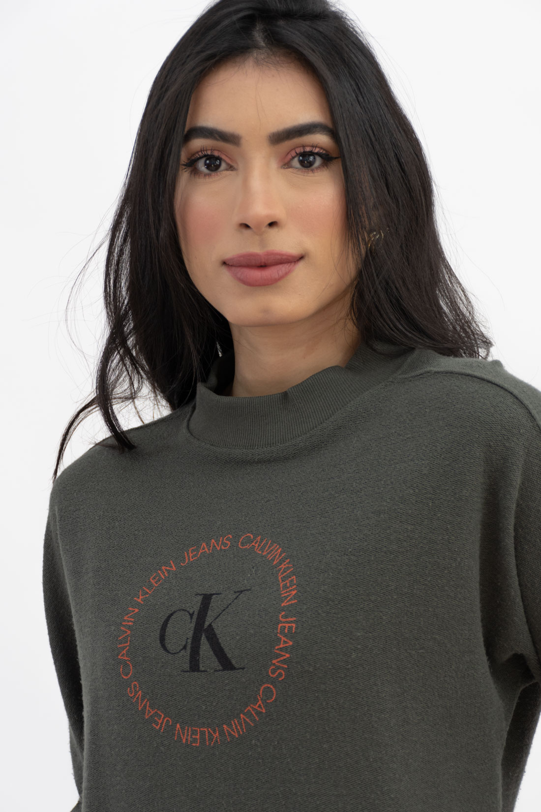 Moletom Calvin Klein Logo Circular