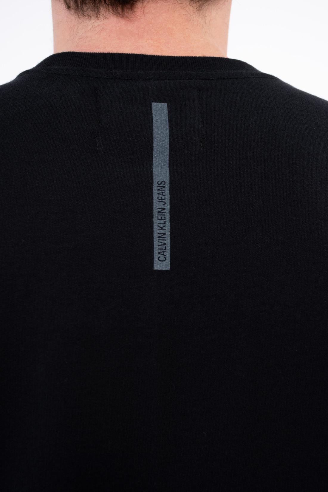 Moletom Calvin Klein Logo Diagonal