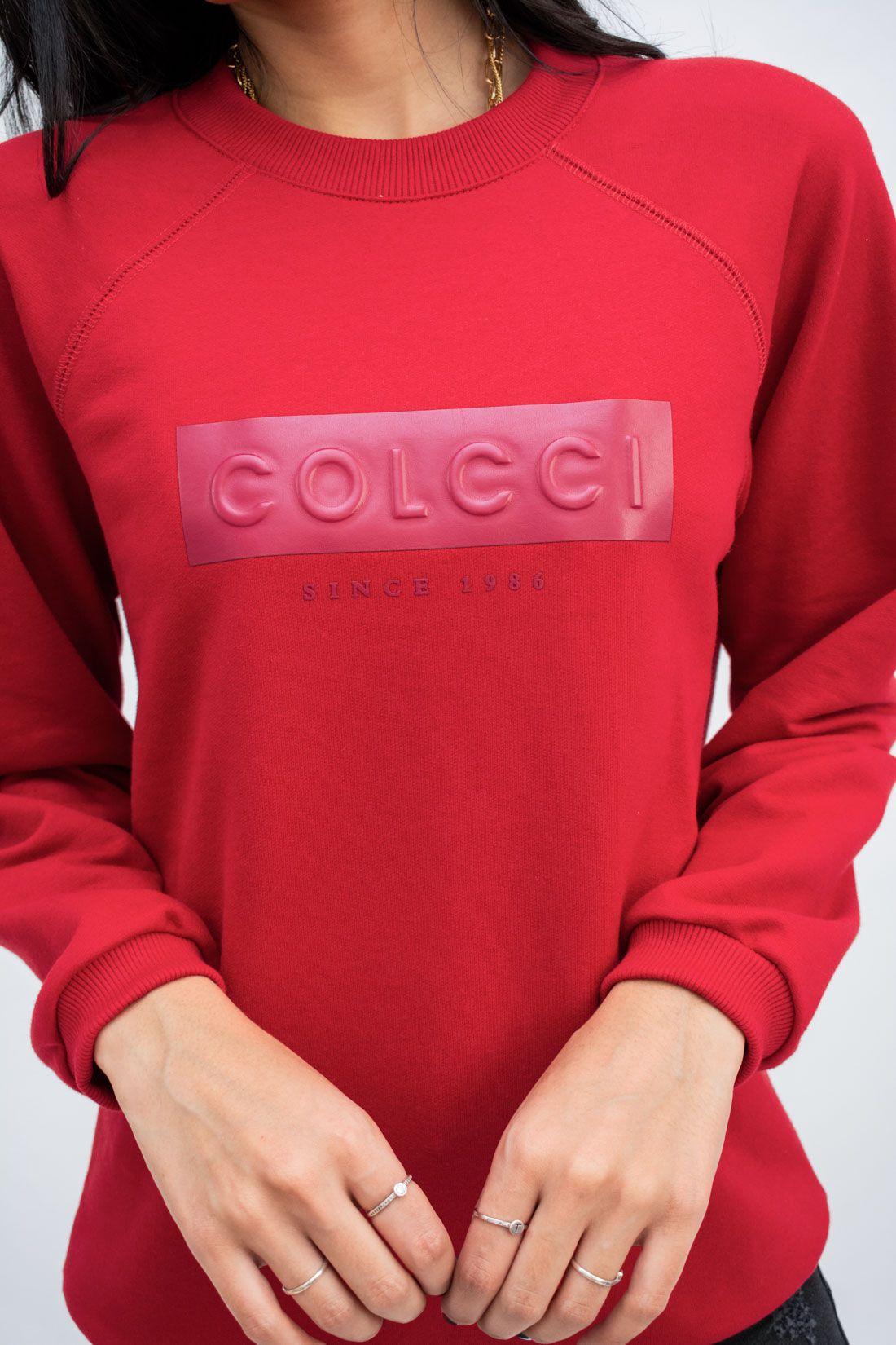Moletom Colcci Logo Embossed