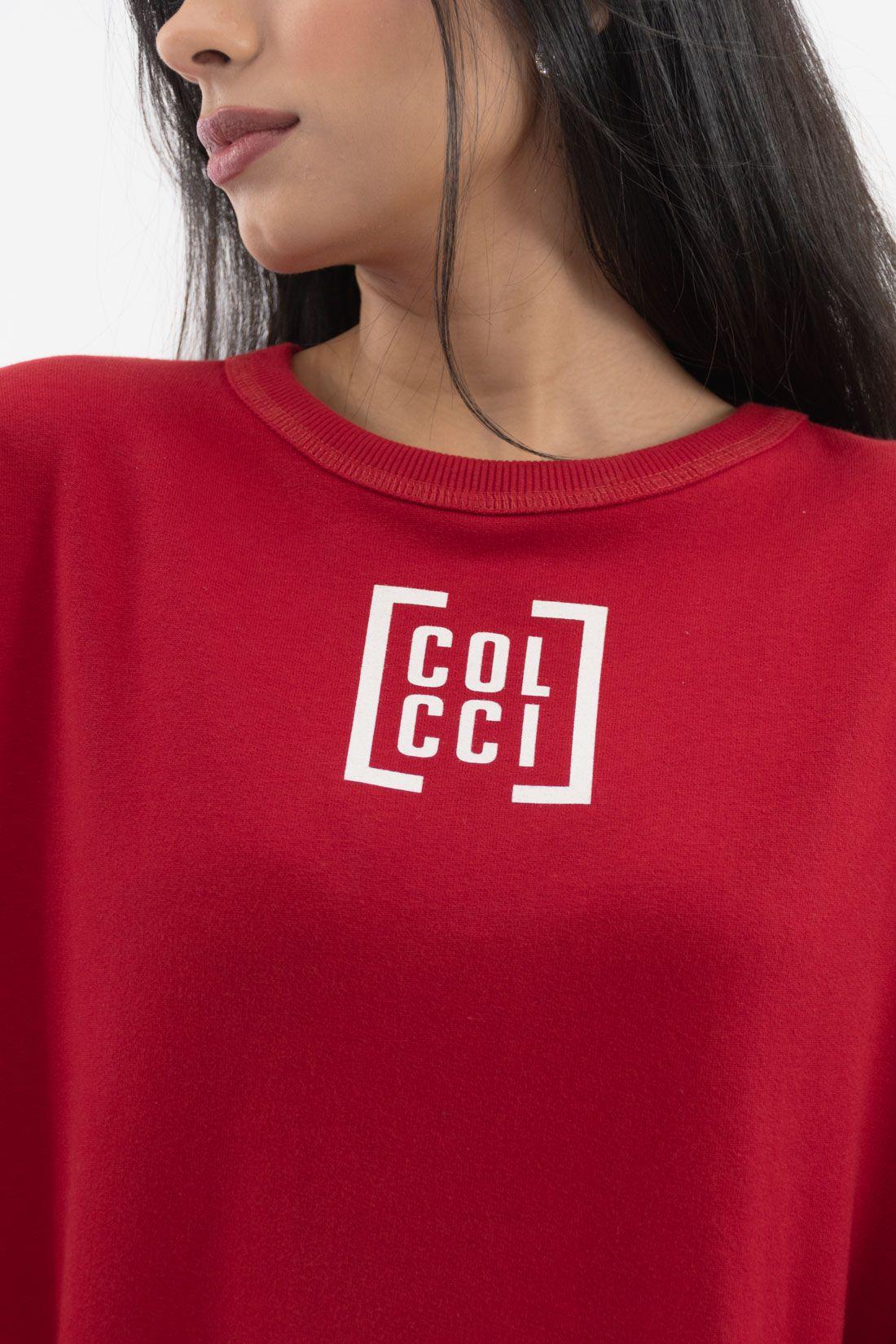 Moletom Colcci Logo Meio