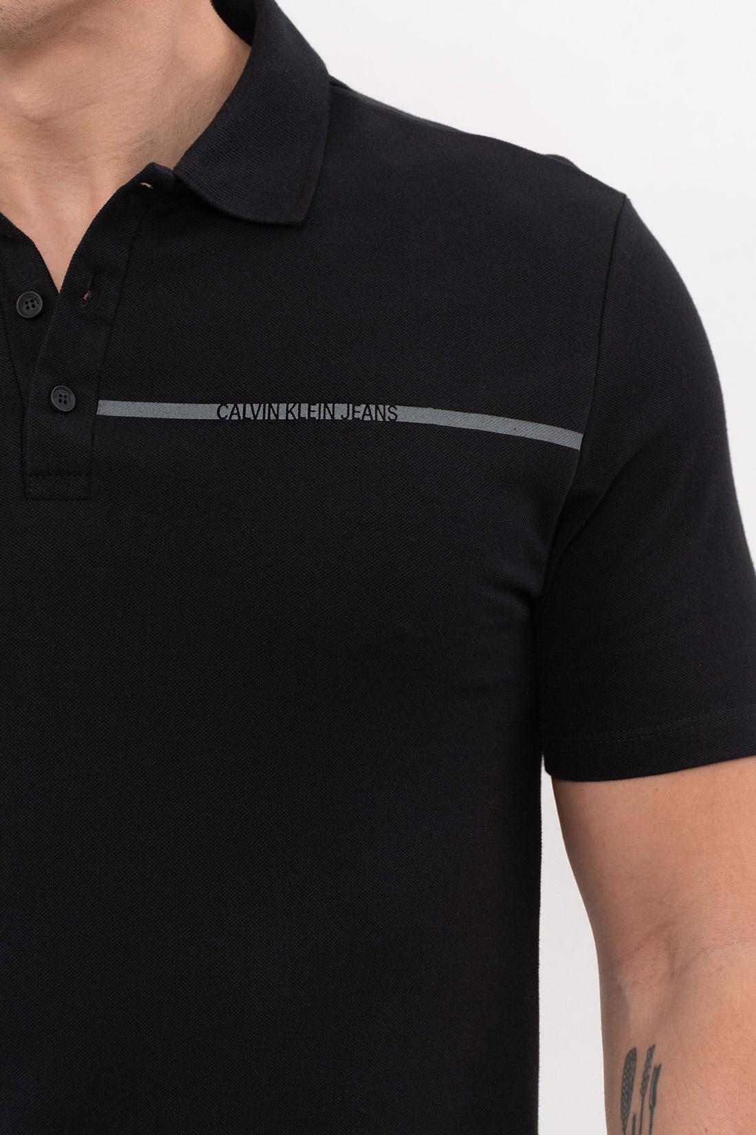 Polo Calvin Klein Logo Linha