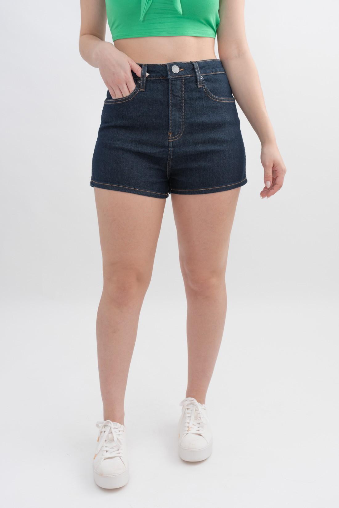 Shorts Calvin Klein Cintura Alta