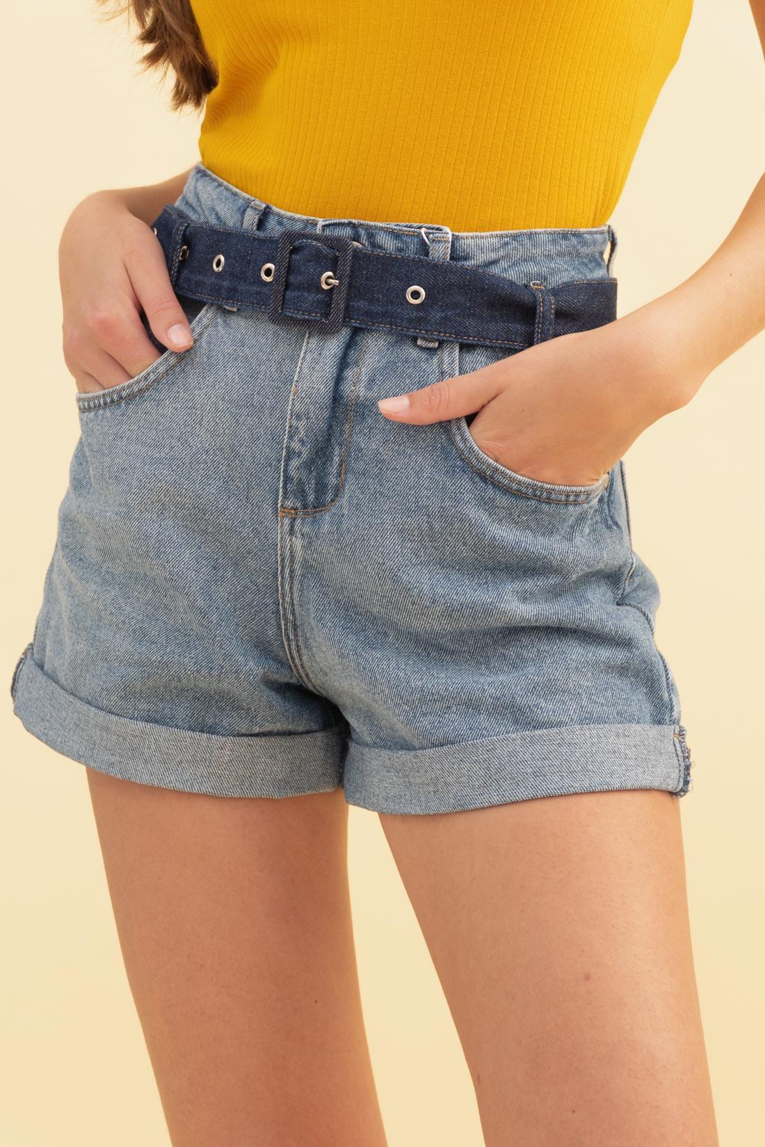 Shorts Colcci Suzie Com Cinto