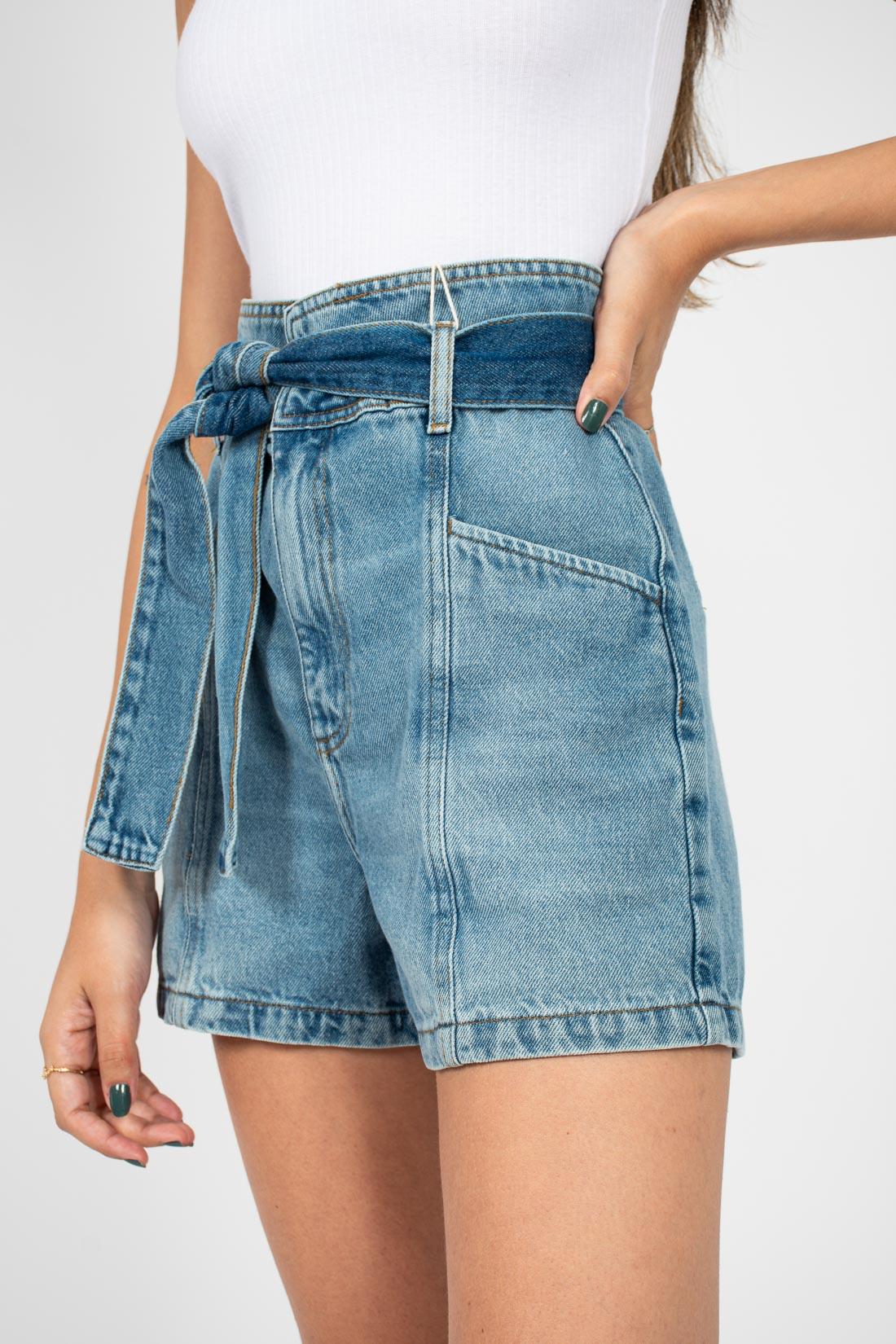 Shorts Jeans Colcci Com Cinto