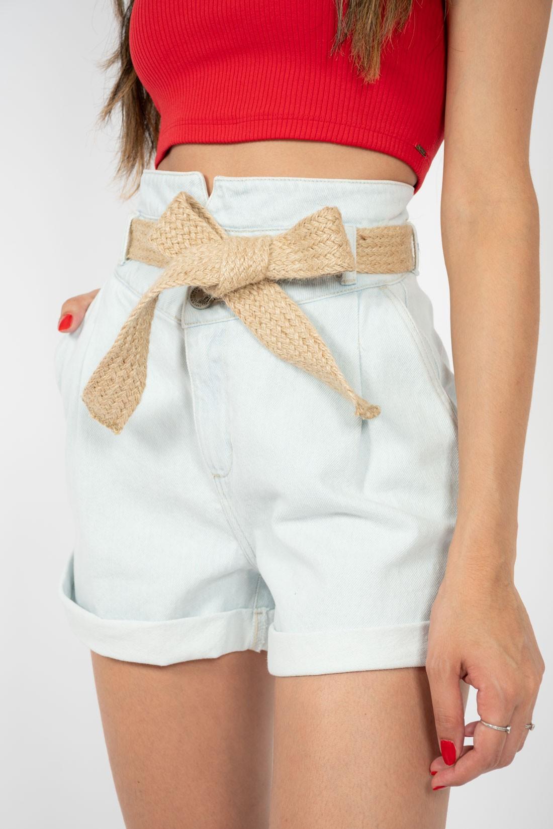Shorts Jeans Colcci Dobra E Cinto
