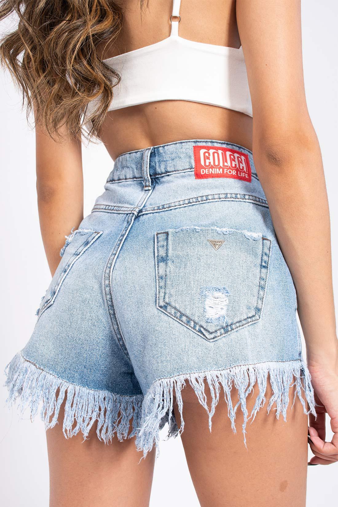 Shorts Jeans Colcci Suzie