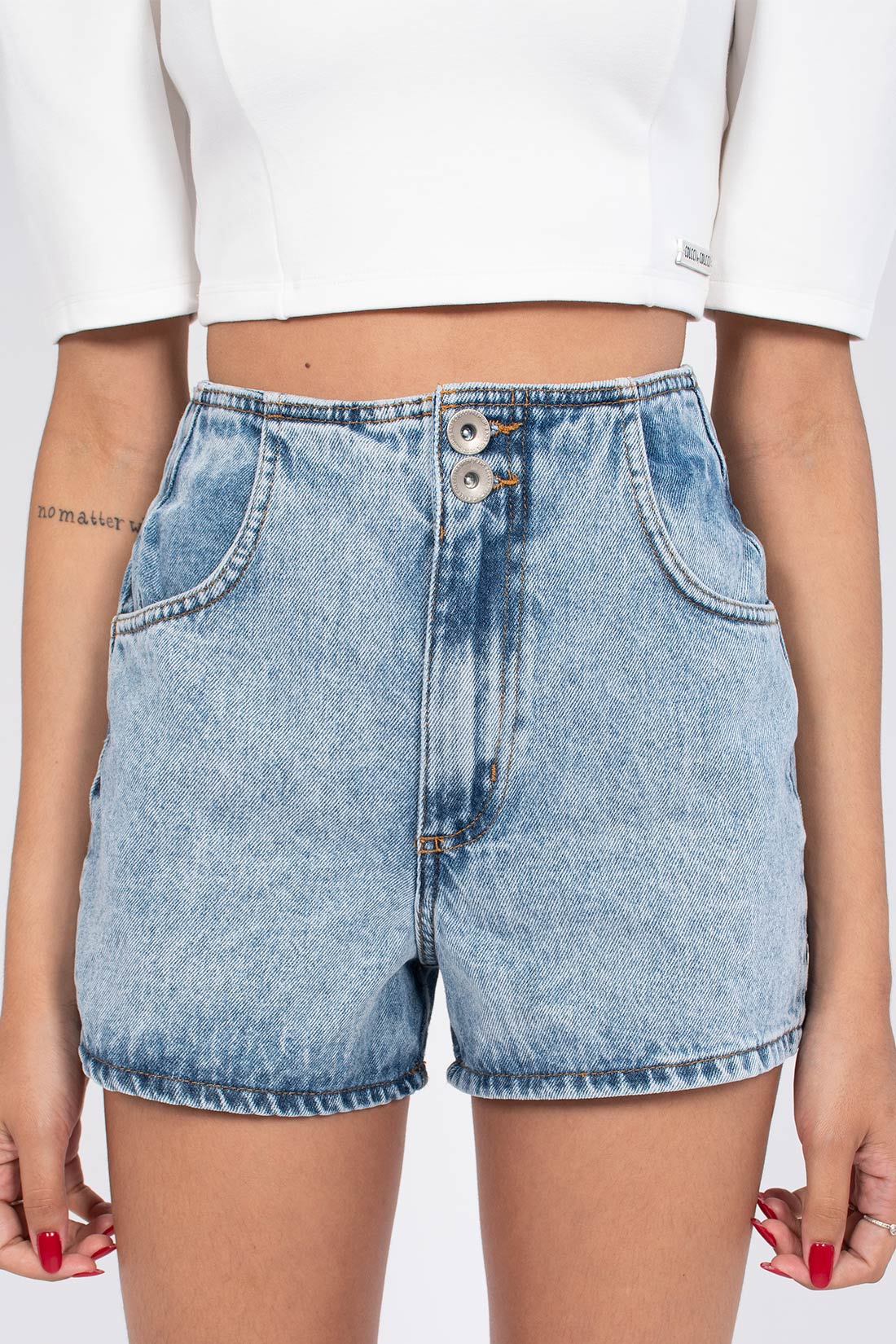 Shorts Jeans Colcci Suzie Elastico Cos