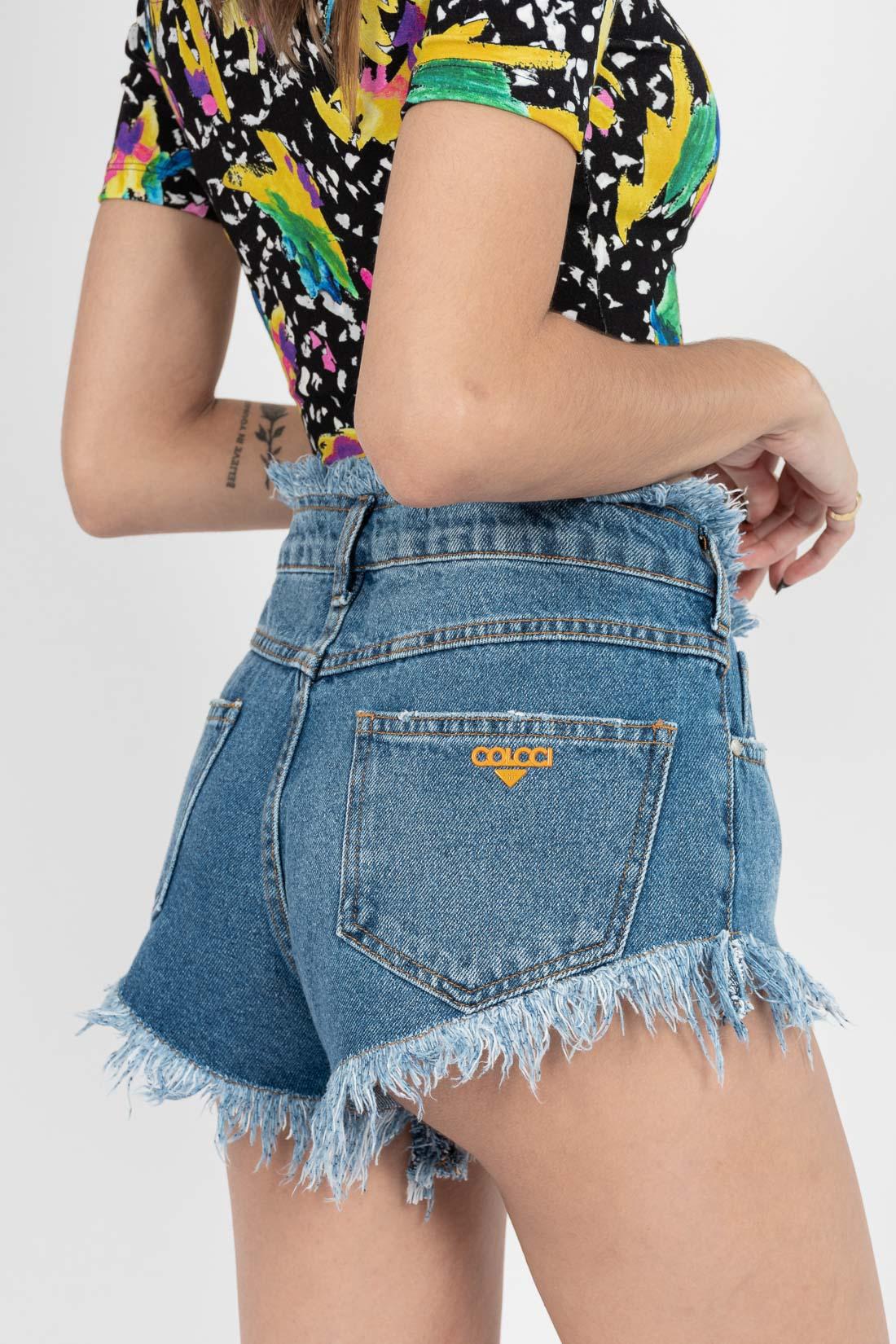 Shorts Jeans Colcci Tomboy