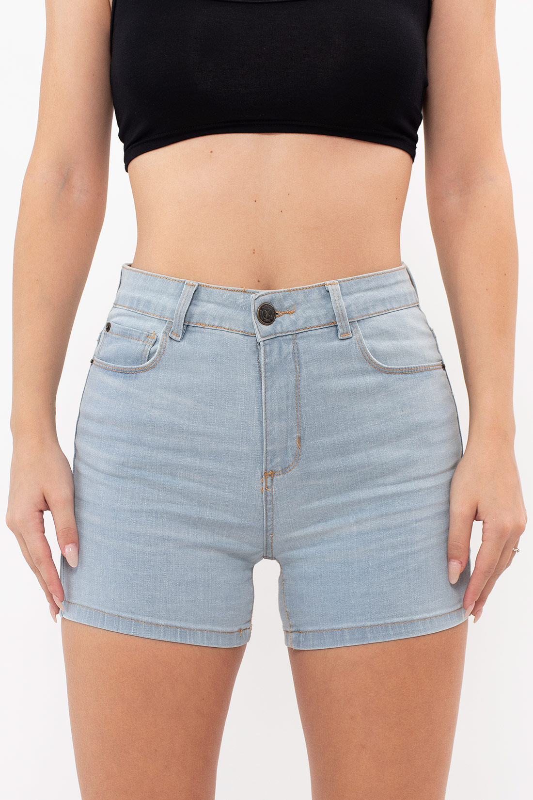 Shorts Jeans Hering Liso