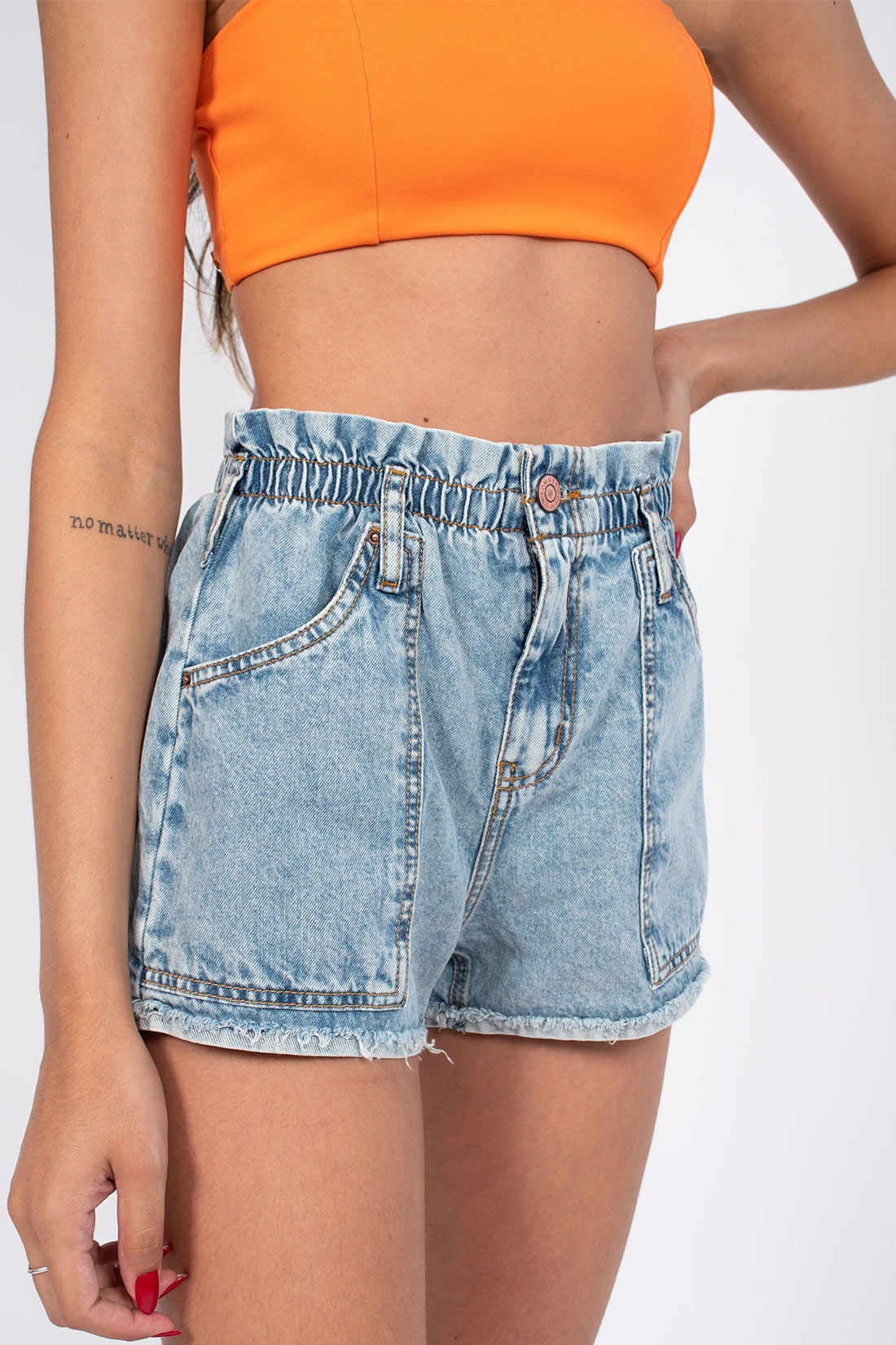 Shorts Jeans Sommer Taylor Elastico