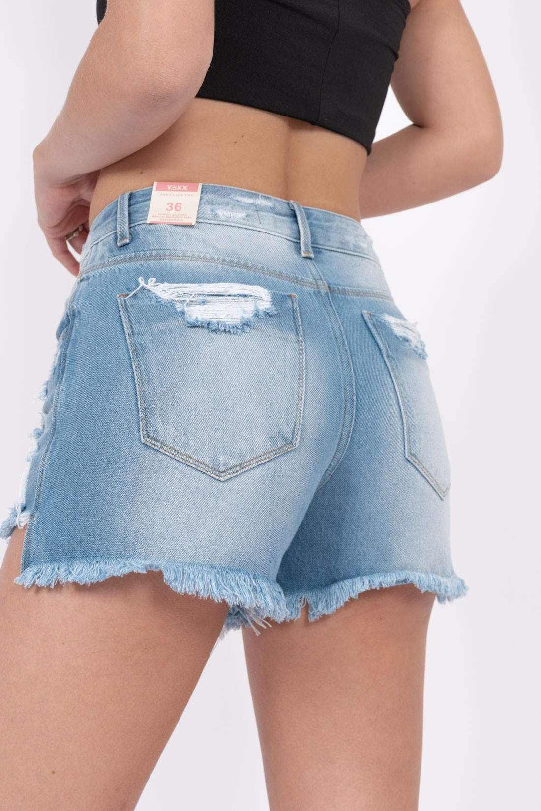 Shorts Jeans Yexx Destroyed