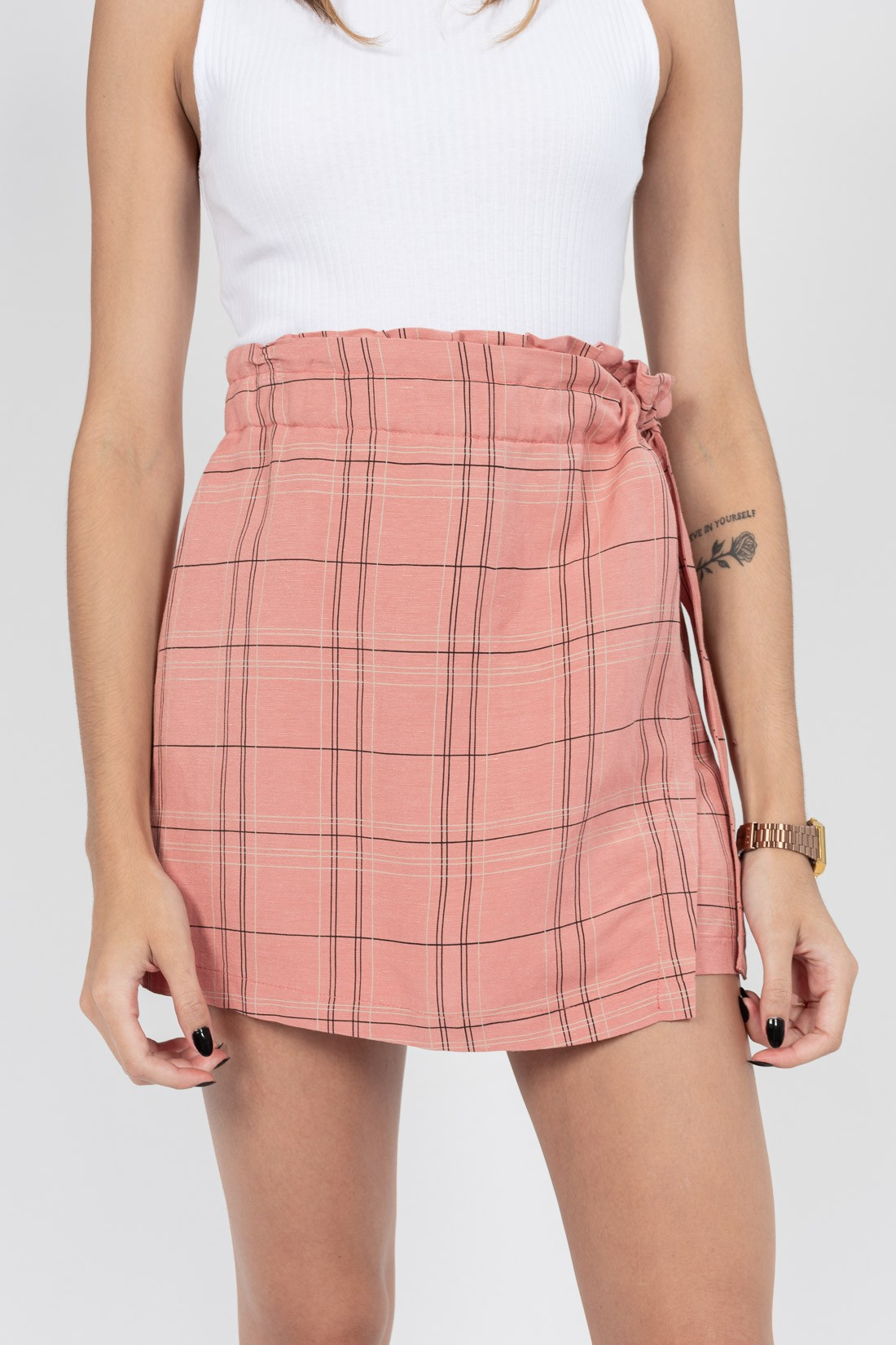 Shorts Saia Colcci Xadrez