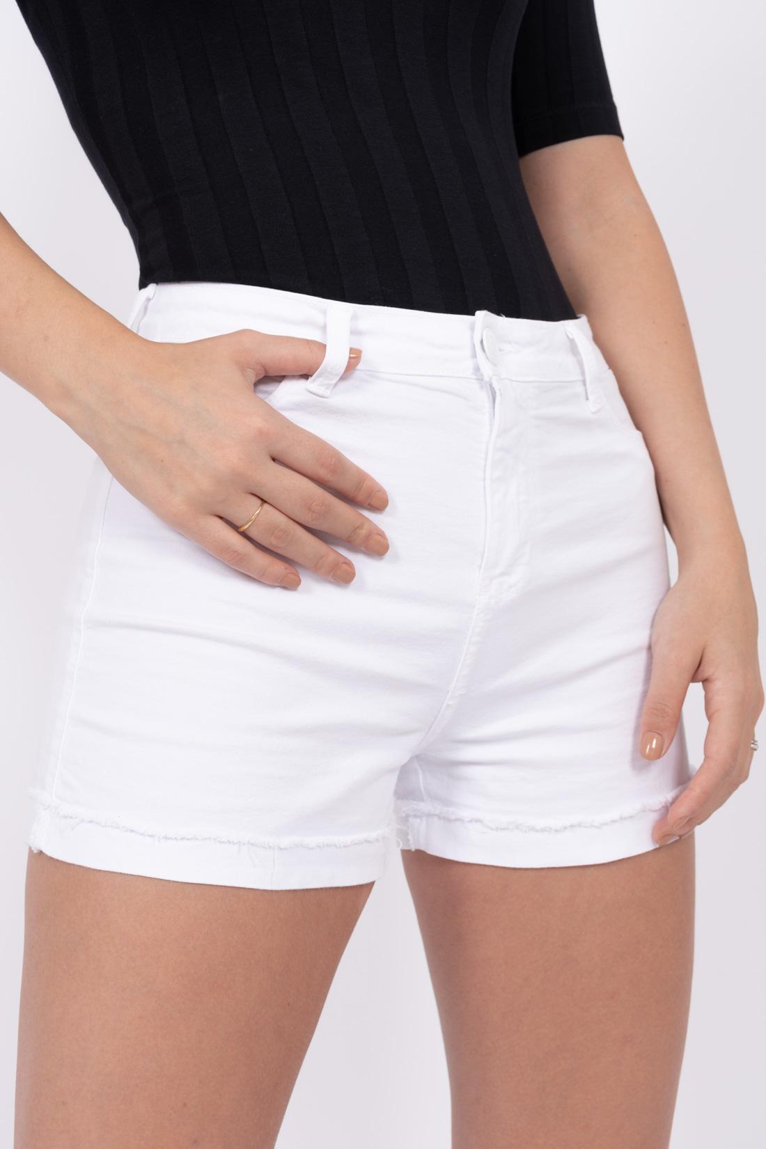 Shorts Sarja Hering Barra Dobrada