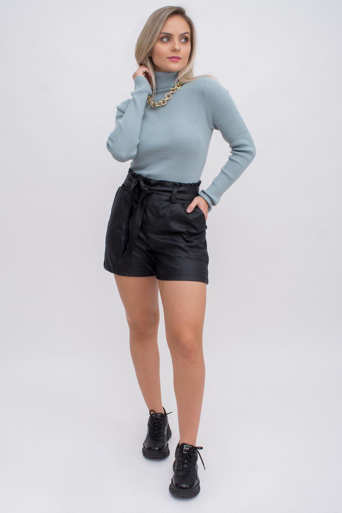 Shorts Yexx Clochard Couro