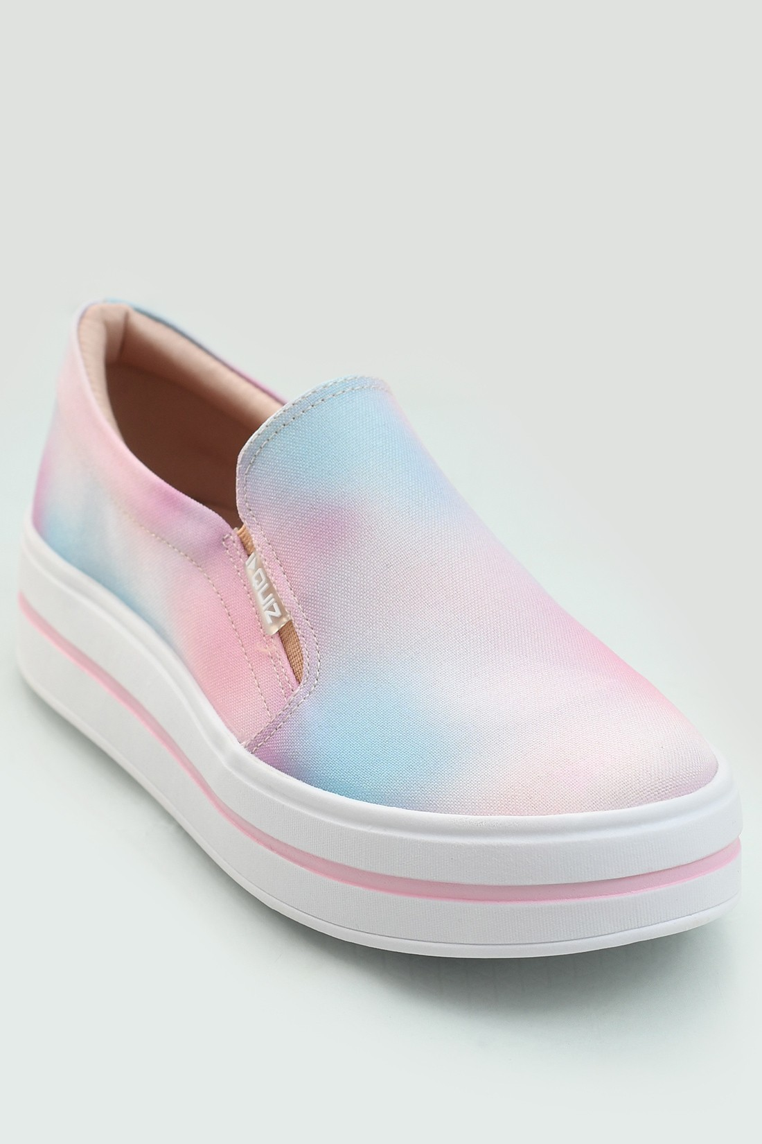 Slip On Quiz Tie Dye