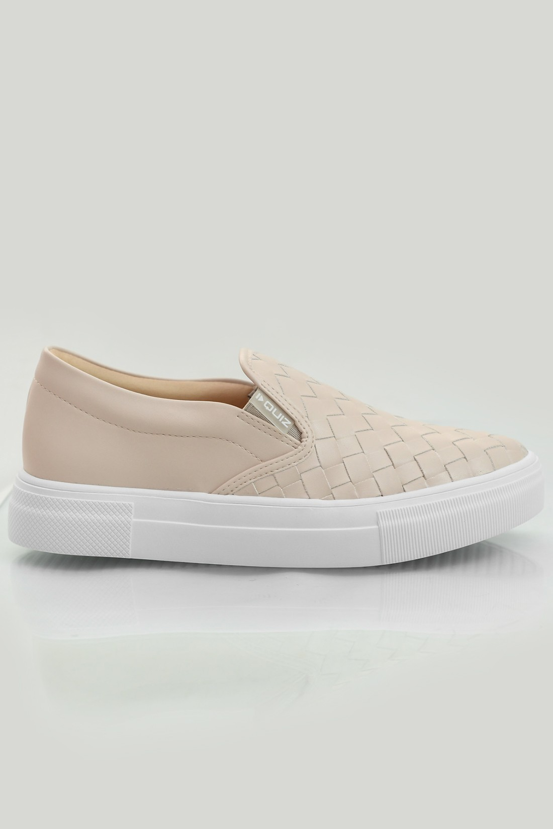 Slip On Quiz Trancado