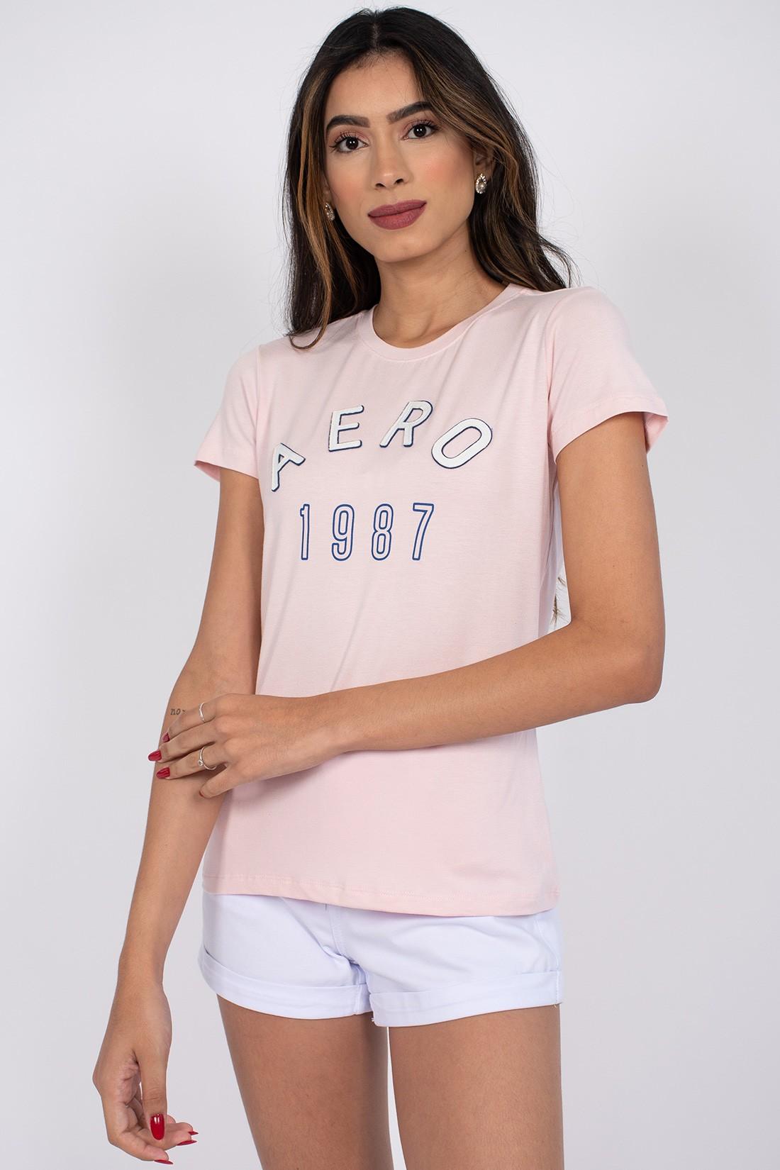 T Shirt Aeropostale Logo Meio