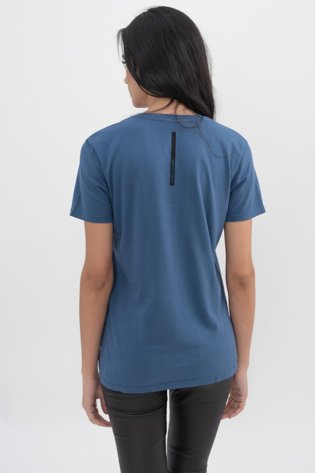 T Shirt Calvin Klein Etiqueta
