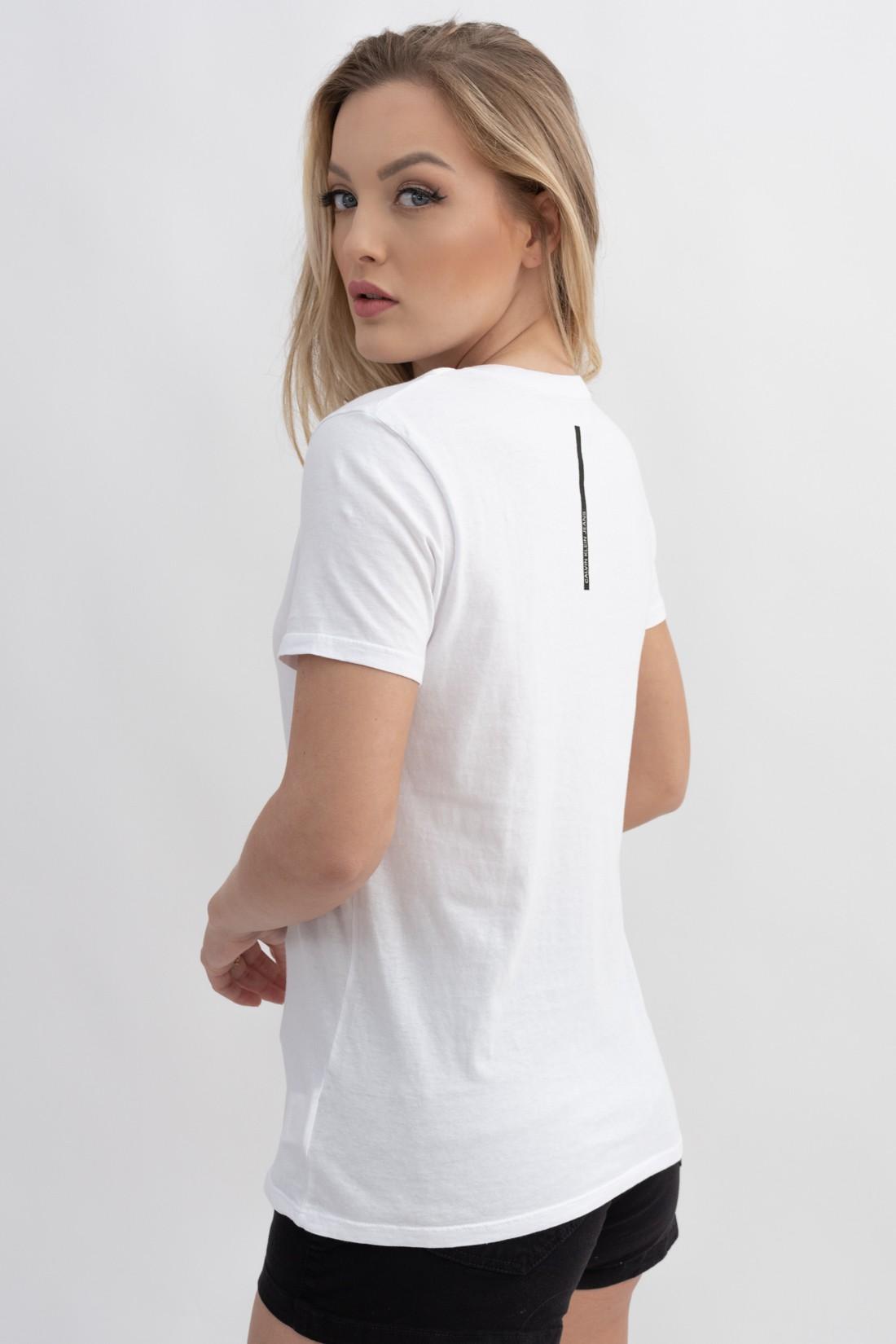 T Shirt Calvin Klein Logo Circular