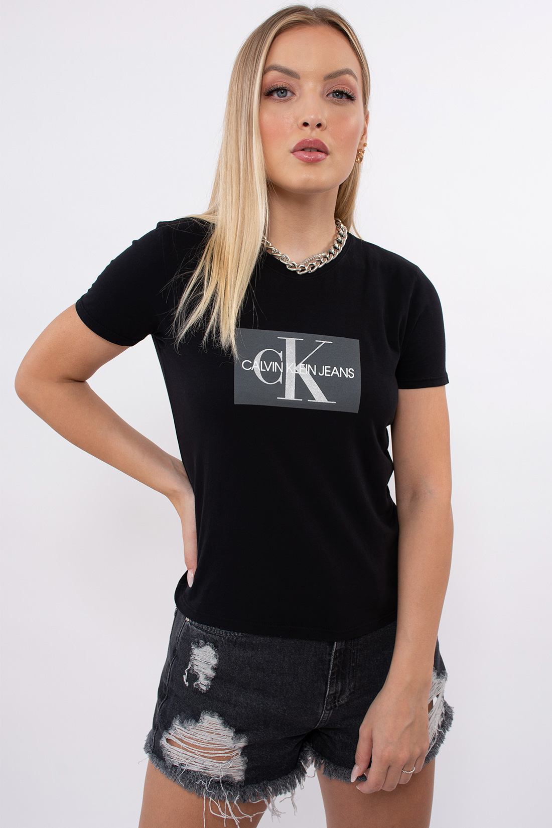 T Shirt Calvin Klein Logo Ck