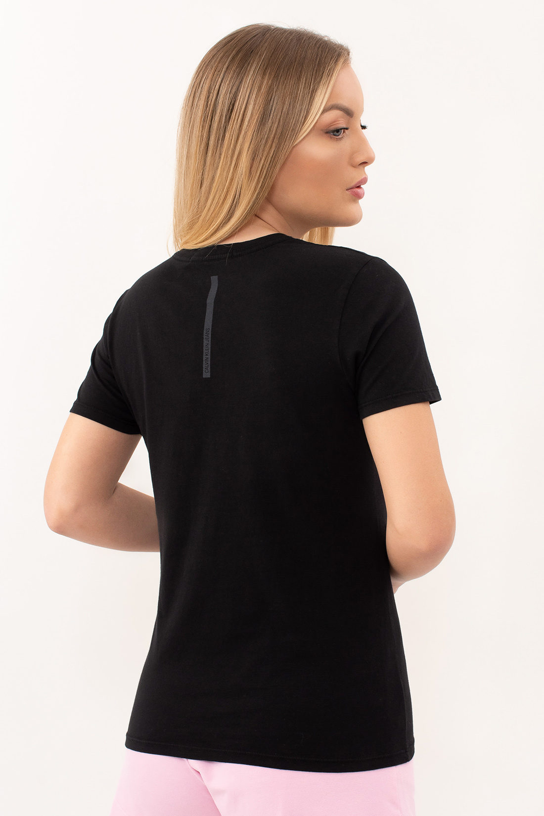 T Shirt Calvin Klein Logo Frontal Ck