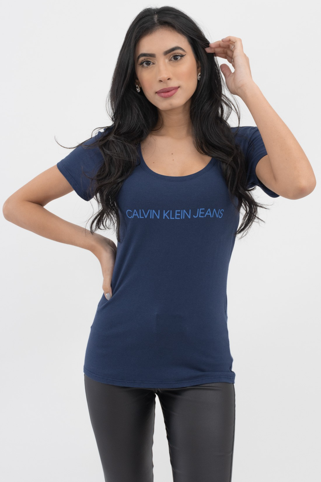 T Shirt Calvin Klein Logo Gel
