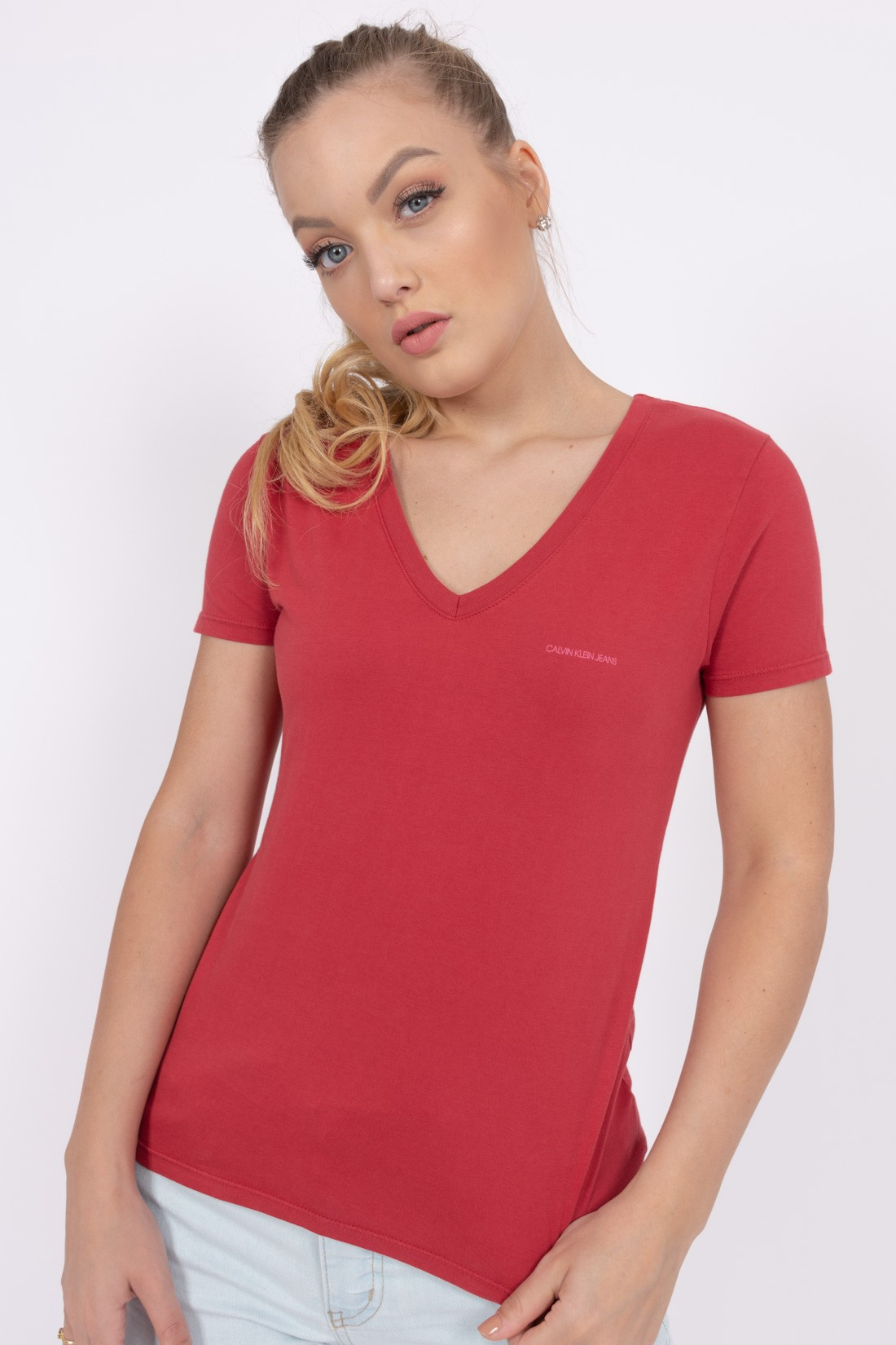 T Shirt Calvin Klein Mini Logo Dec V