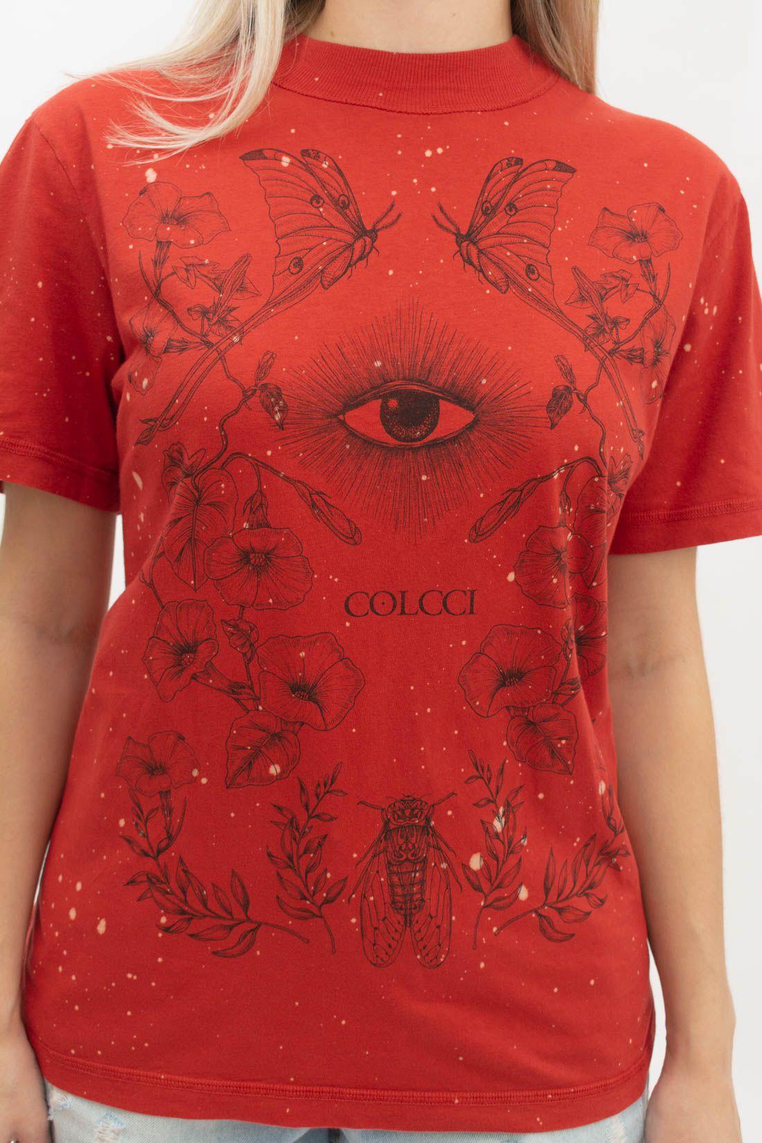 T Shirt Colcci  Botanical