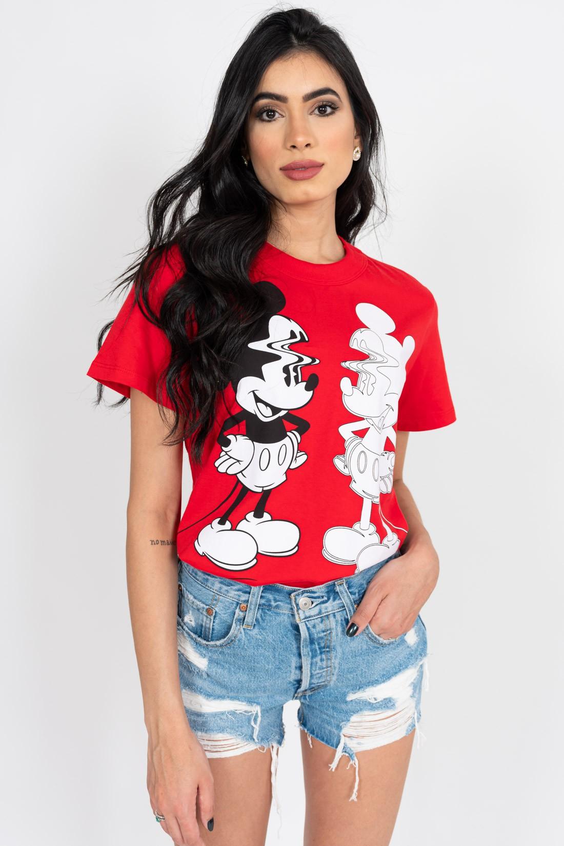 T Shirt Colcci Mickey Reflexo