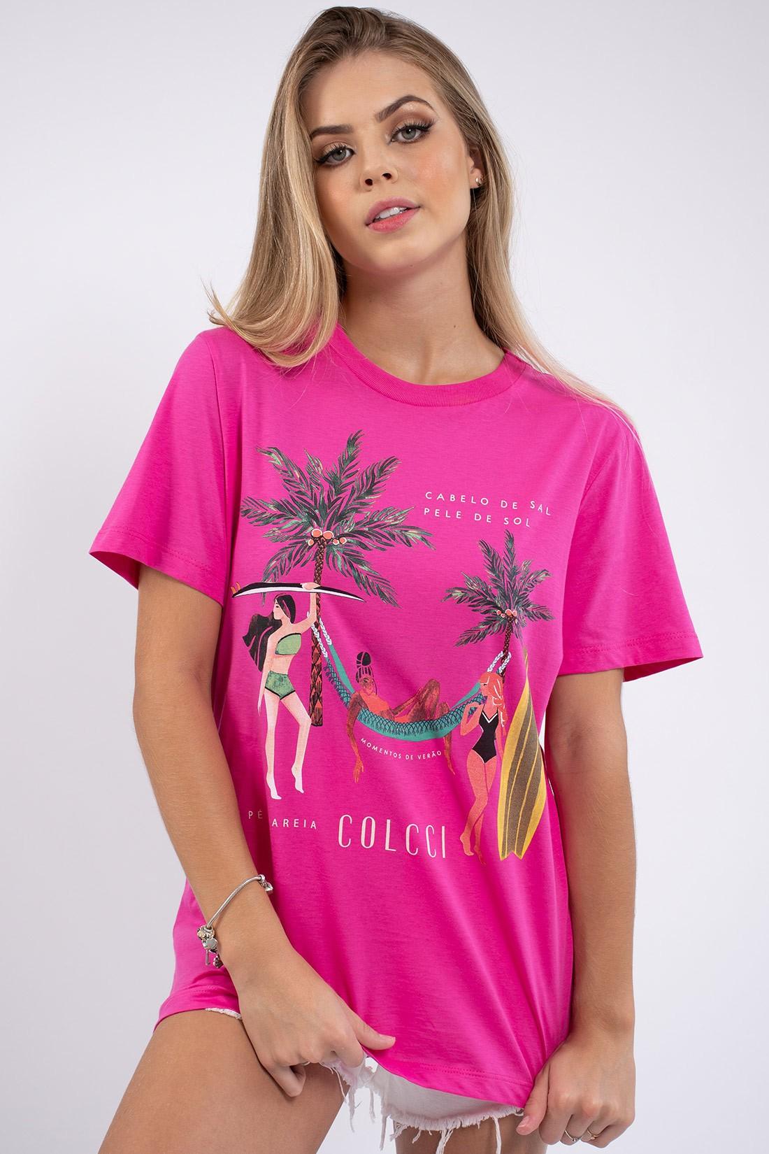 T Shirt Colcci Momentos De Verao
