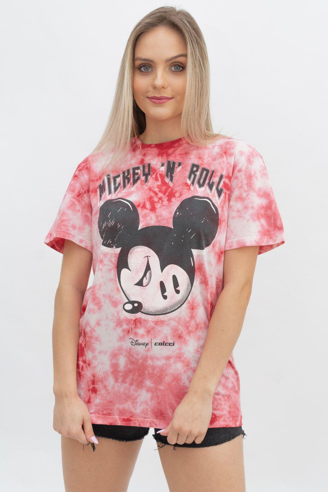 T Shirt Colcci Tie Dye Mickey N Roll