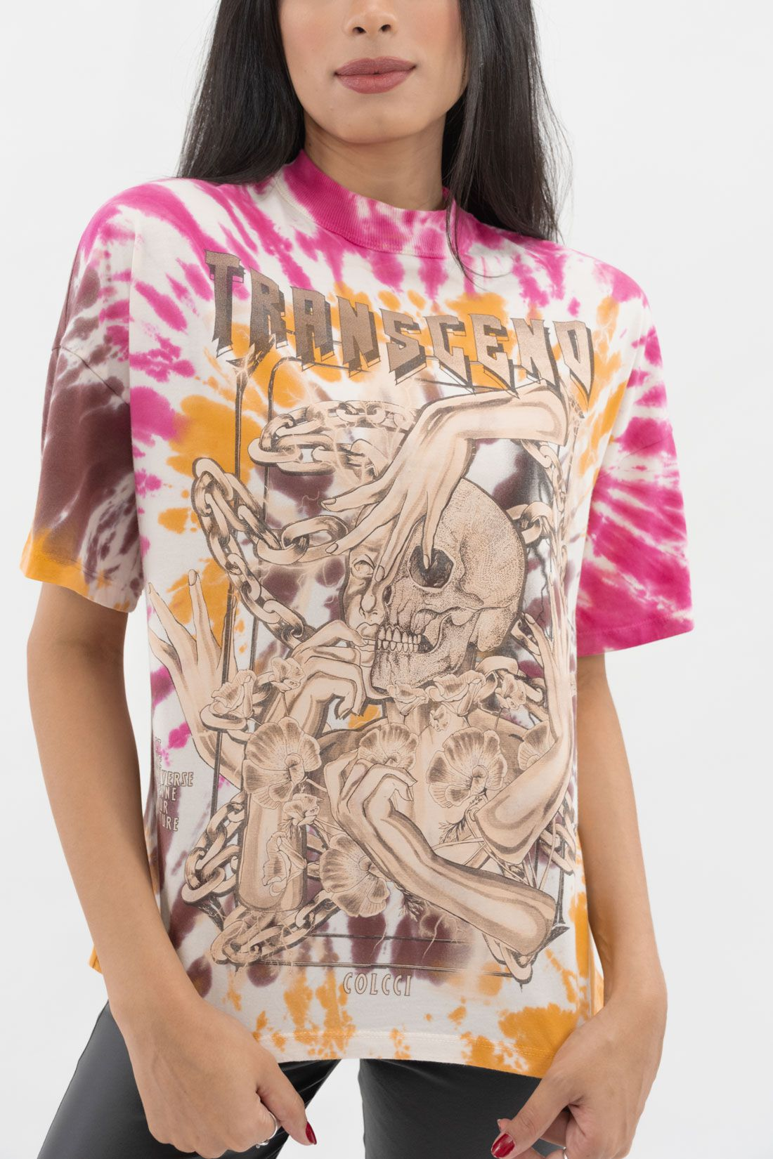 T Shirt Colcci Tie Dye Transcend