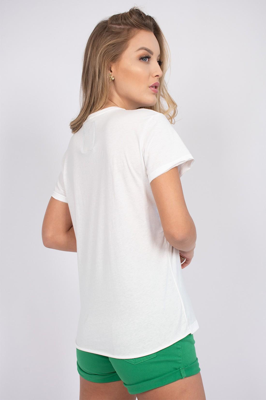 T Shirt Colcci Tropicalismo Natural