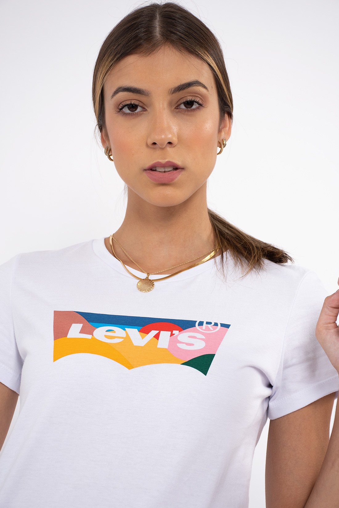 T Shirt Levis Fill Rolling