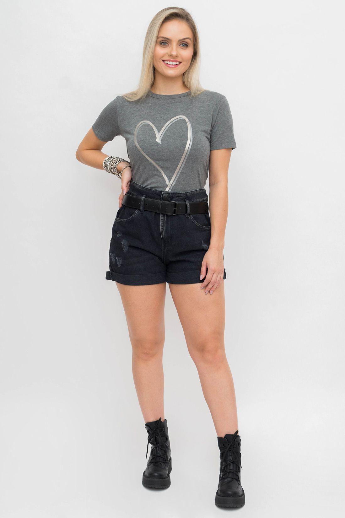 T Shirt Slywear Coracao