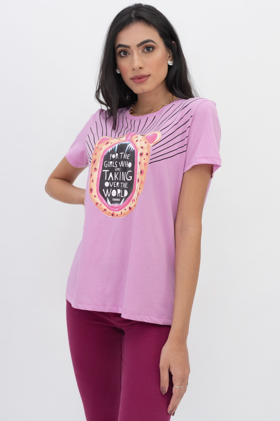 T Shirt Sommer For The Girls Who