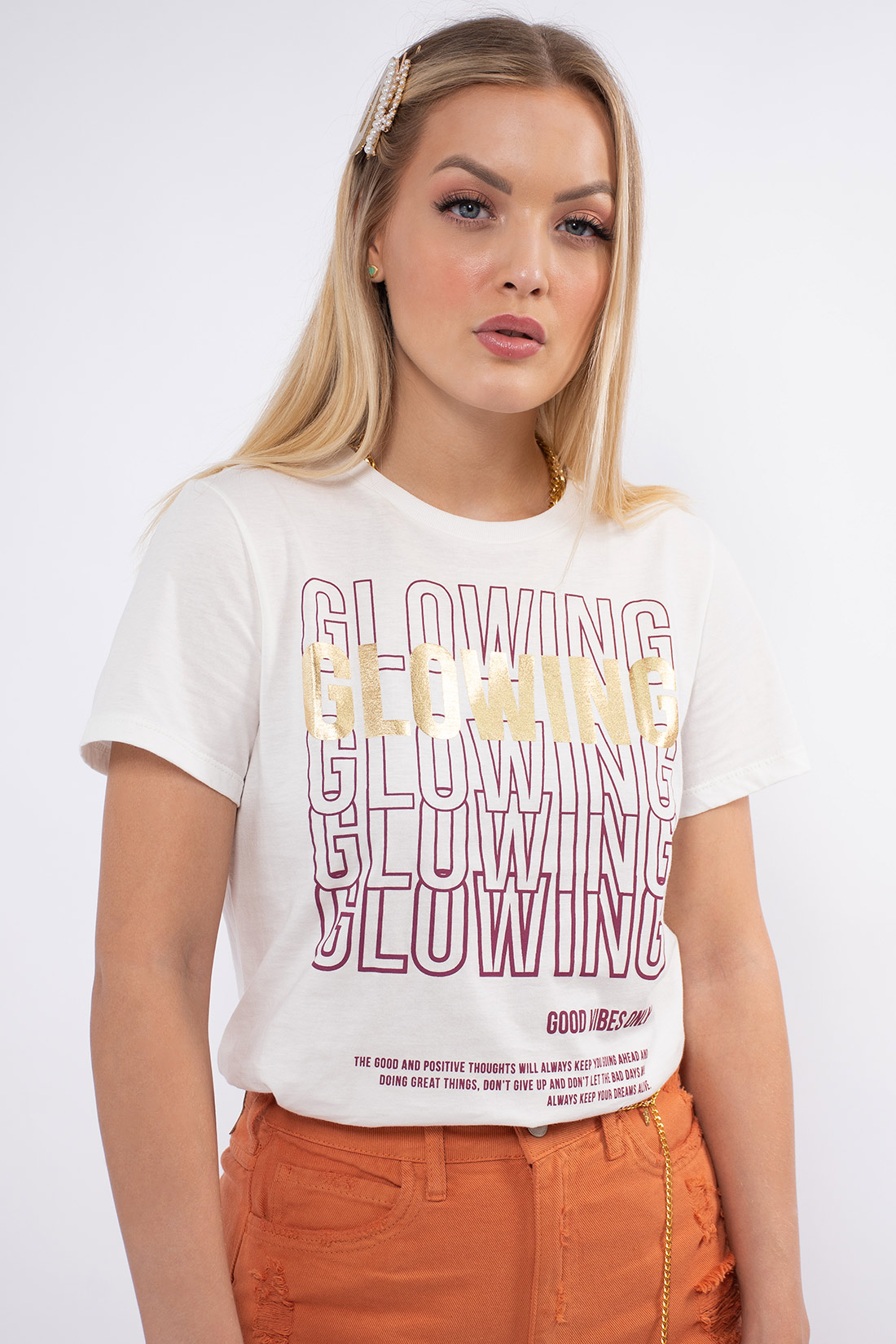 T Shirt Sommer Glowing