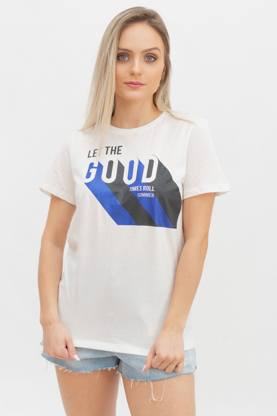 T Shirt Sommer Let The Good