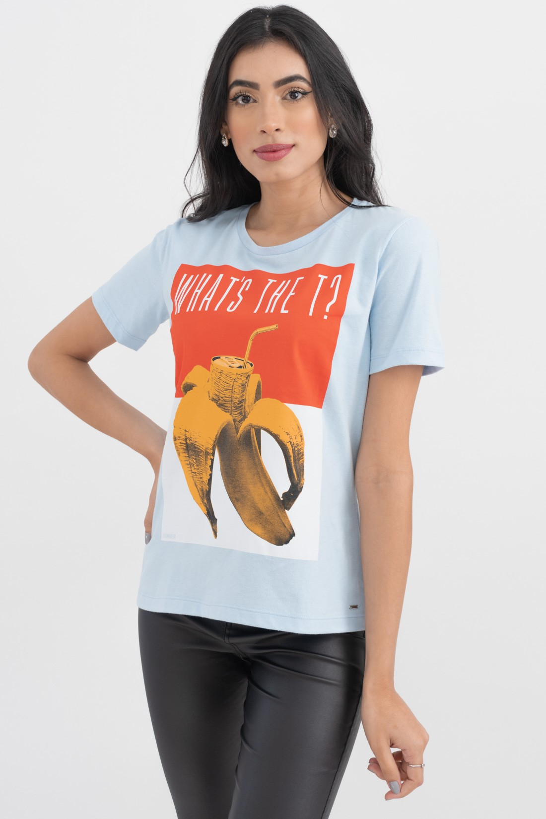 T Shirt Sommer Whats The T