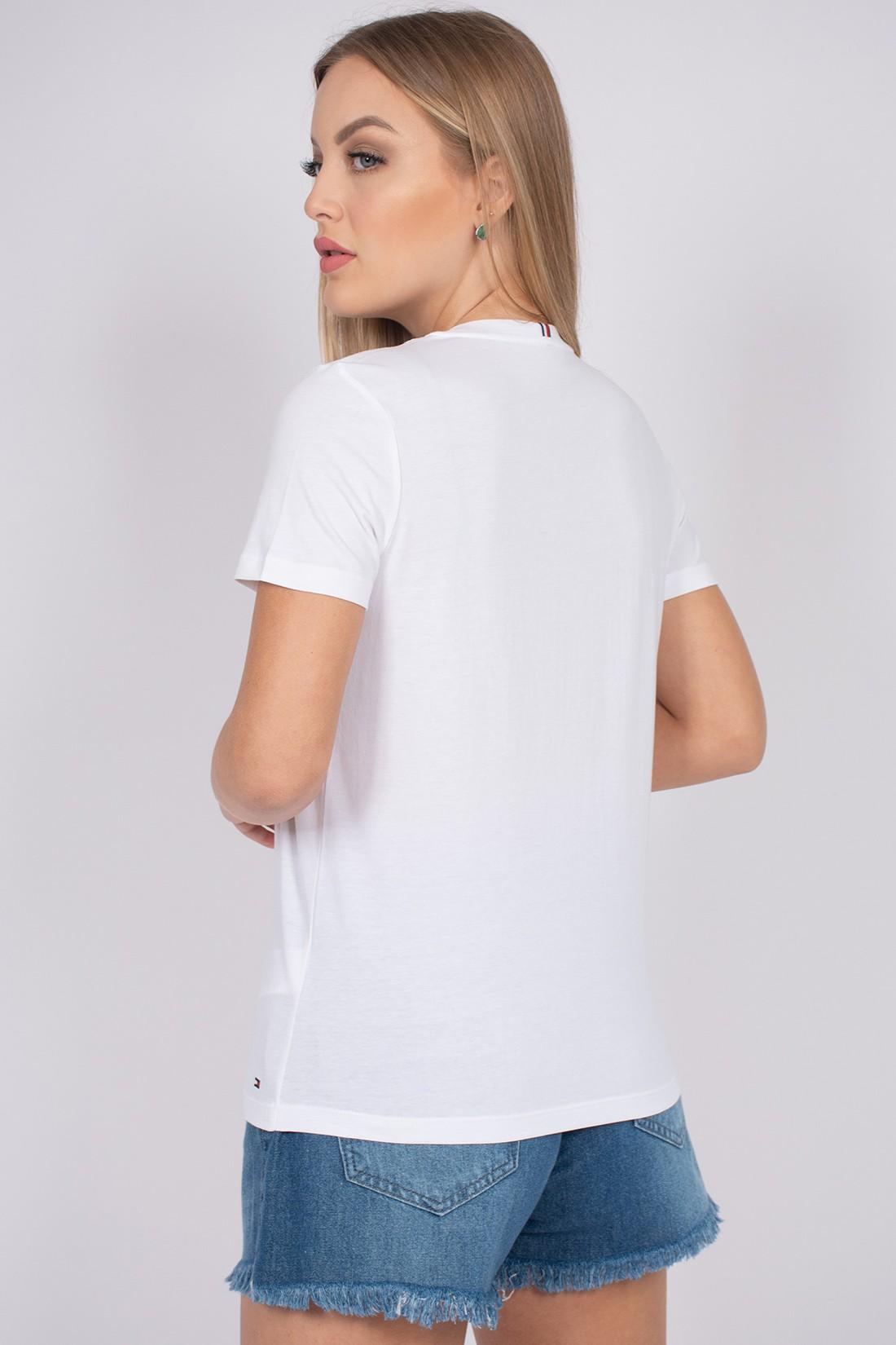 T Shirt Tommy Hilfiger Neck Graphic