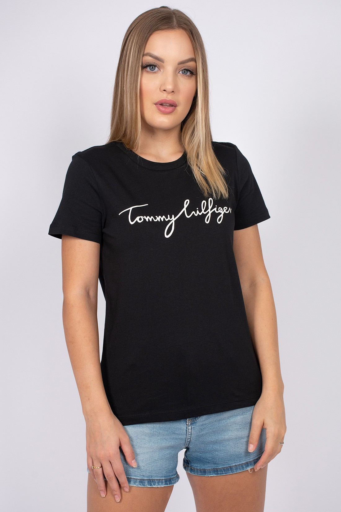 T Shirt Tommy Hilfiger Neck Graphic