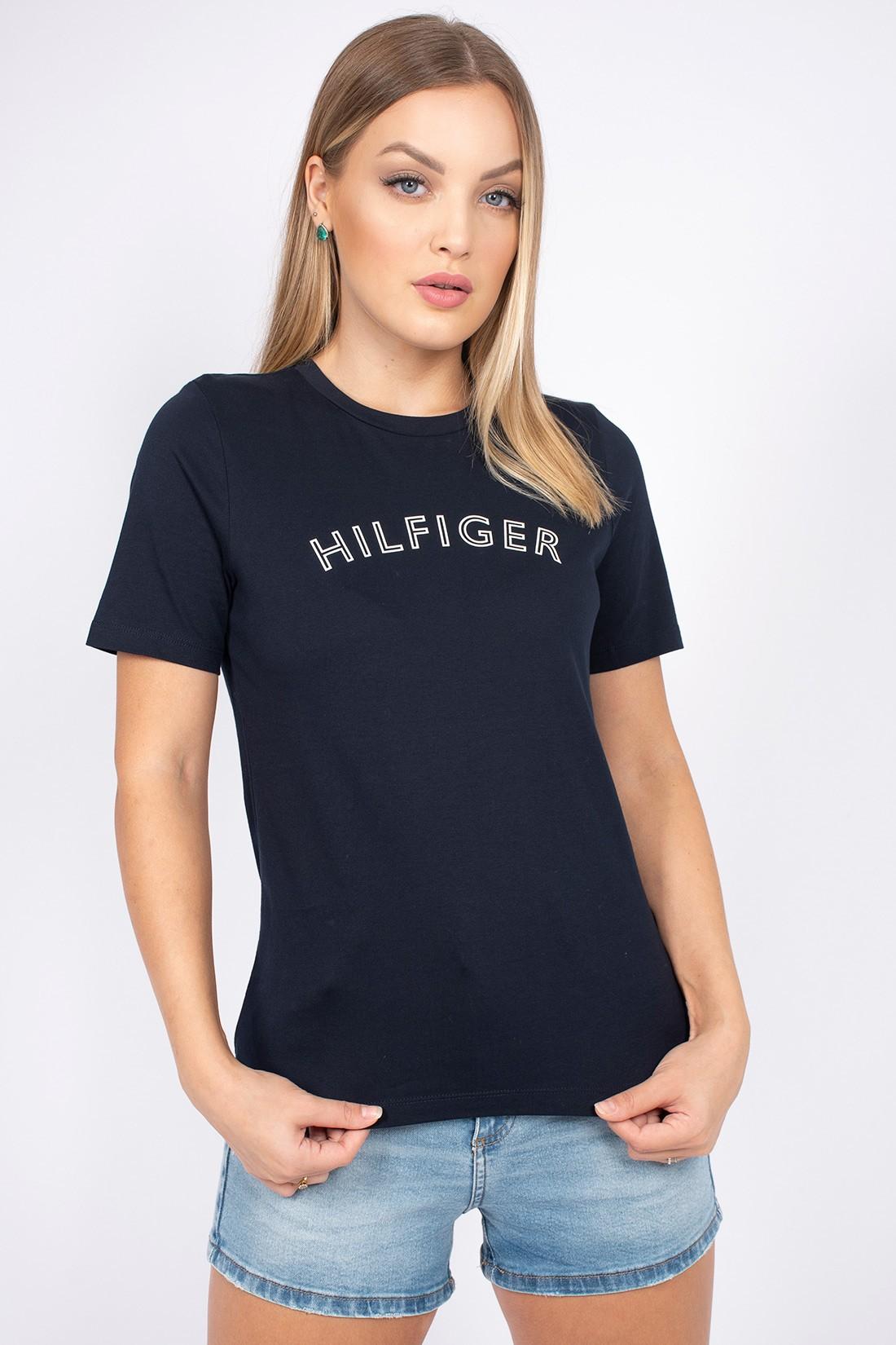 T Shirt Tommy Hilfiger Outline