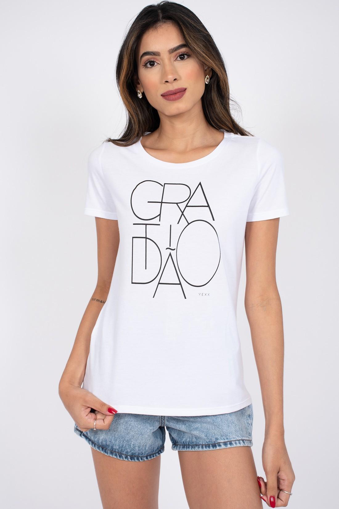T Shirt Yexx Gratidao